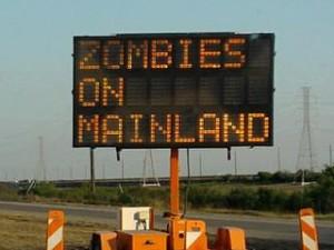 Causeway warning